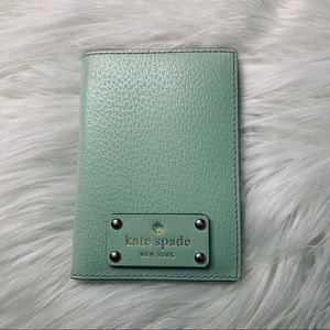 Kate Spade Passport Holder - Mint